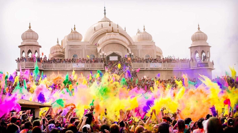 индия фестиваль красок