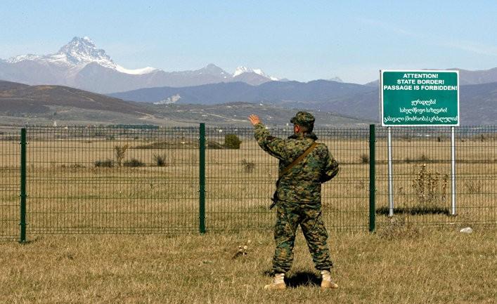 граница грузии и осетии