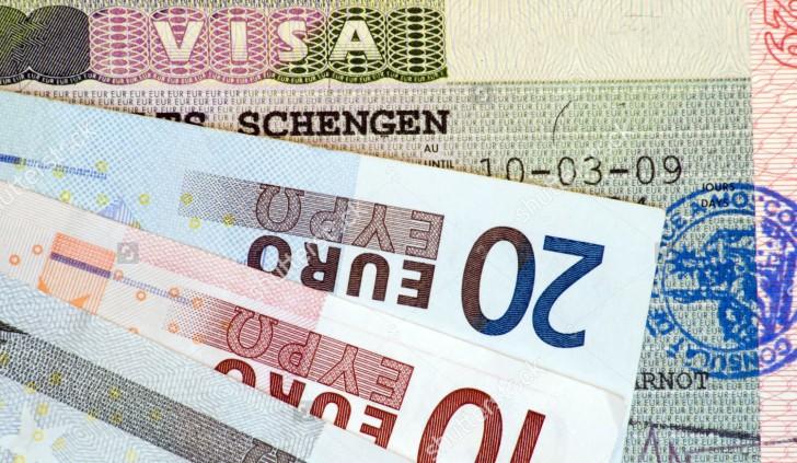 цена визы шенгенской