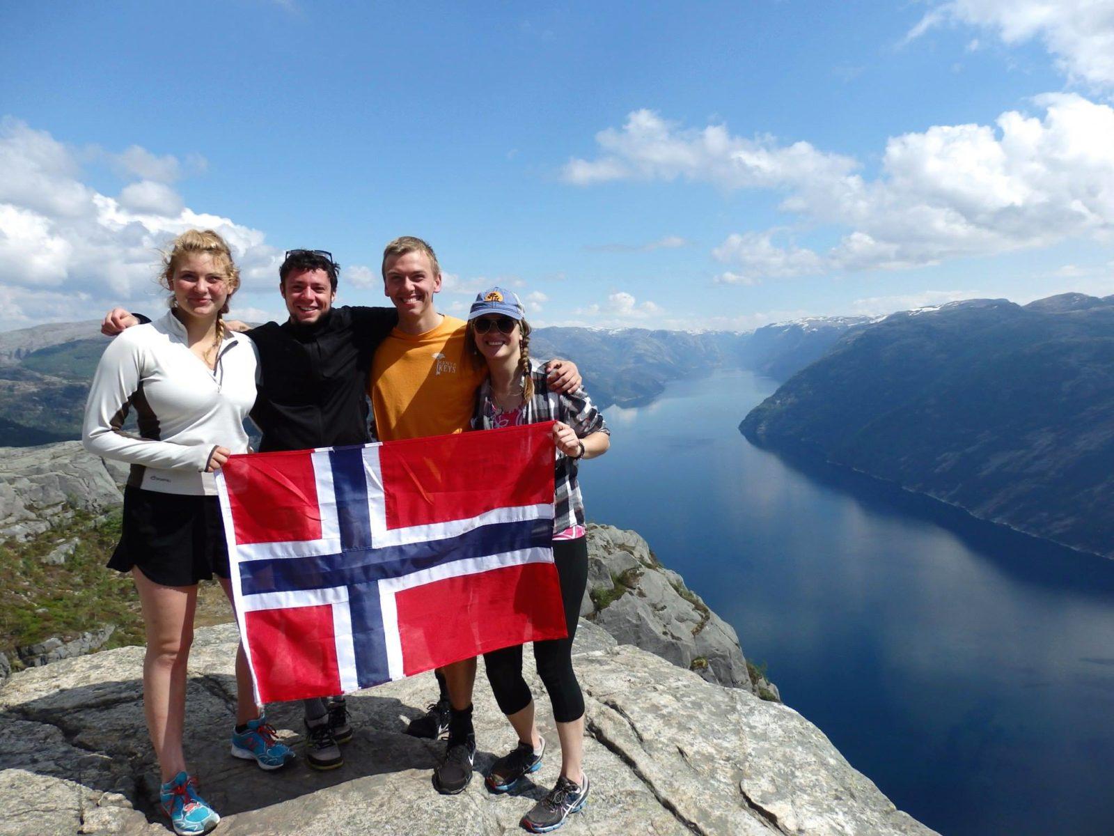 норвегия путешествие