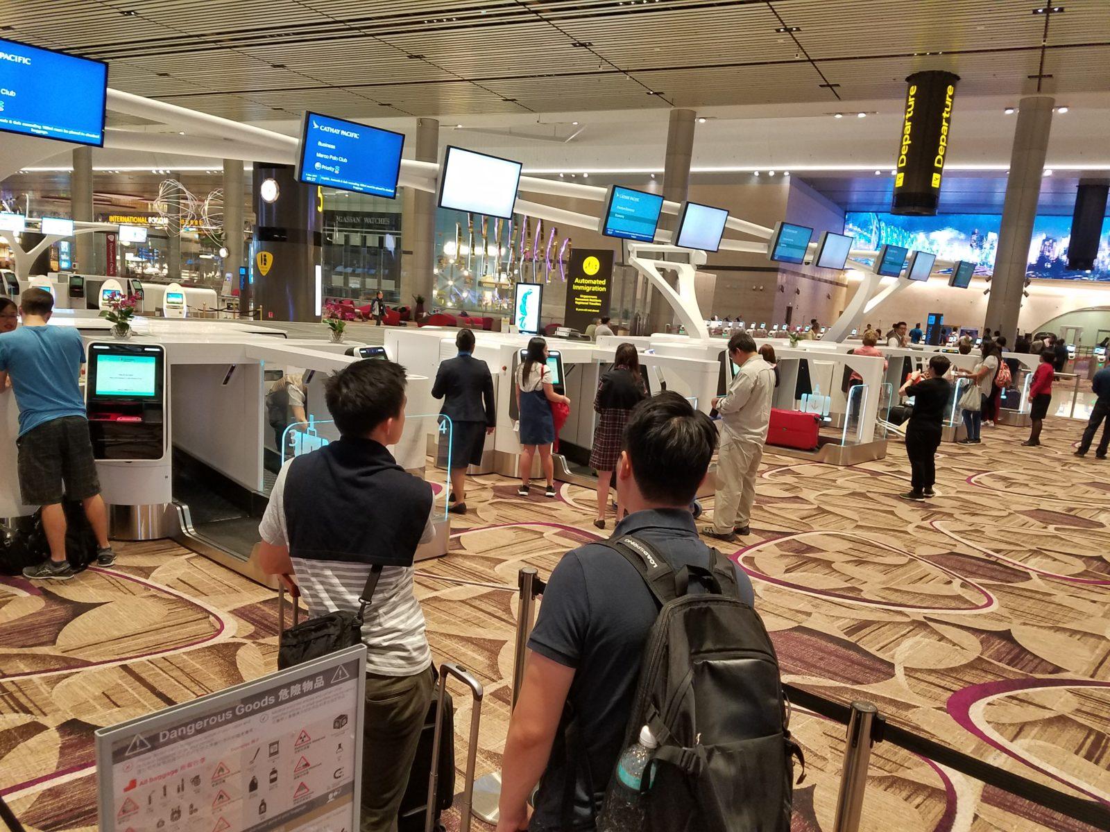 транзитная поездка в сингапур