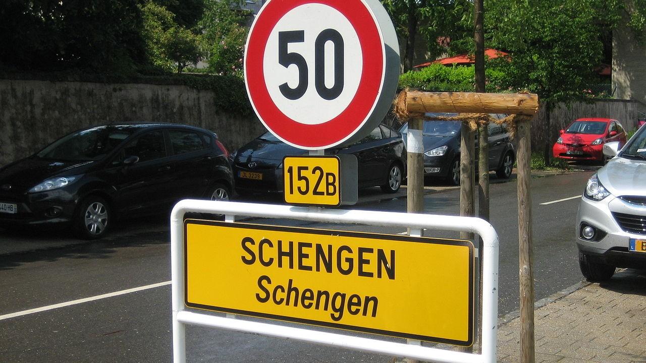 шенгенская территория
