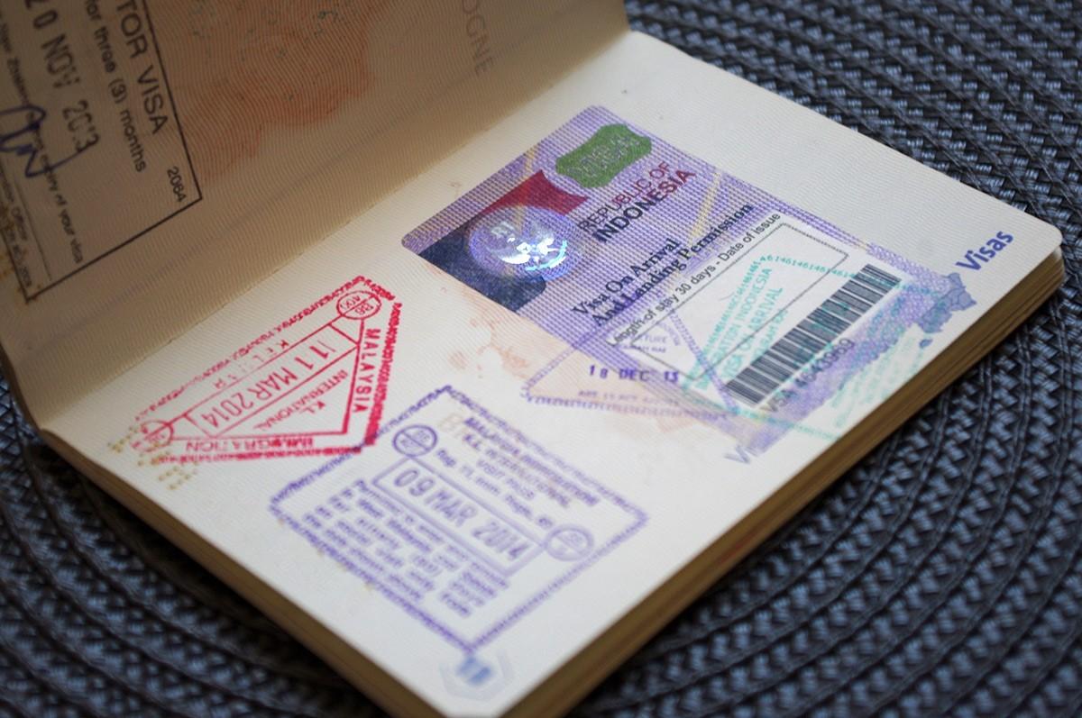 бали виза на границе