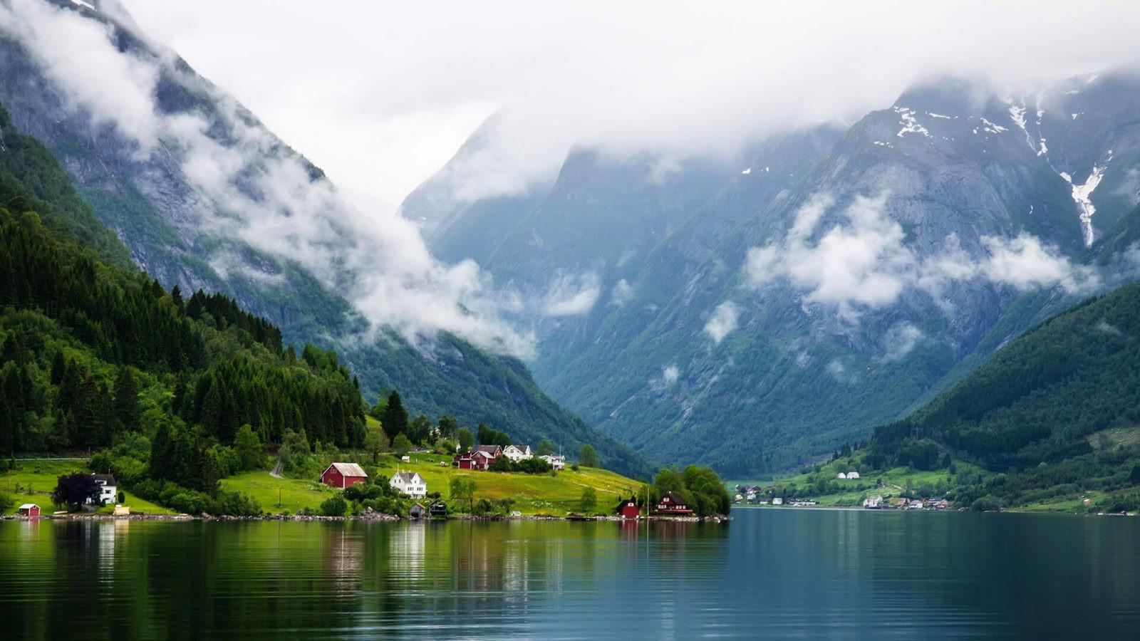 отпуск в норвегии