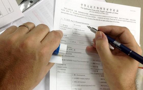 Анкета на визу в Китай: как заполнить правильно?