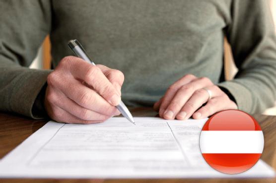Анкета на визу в Австрию: заполняем самостоятельно