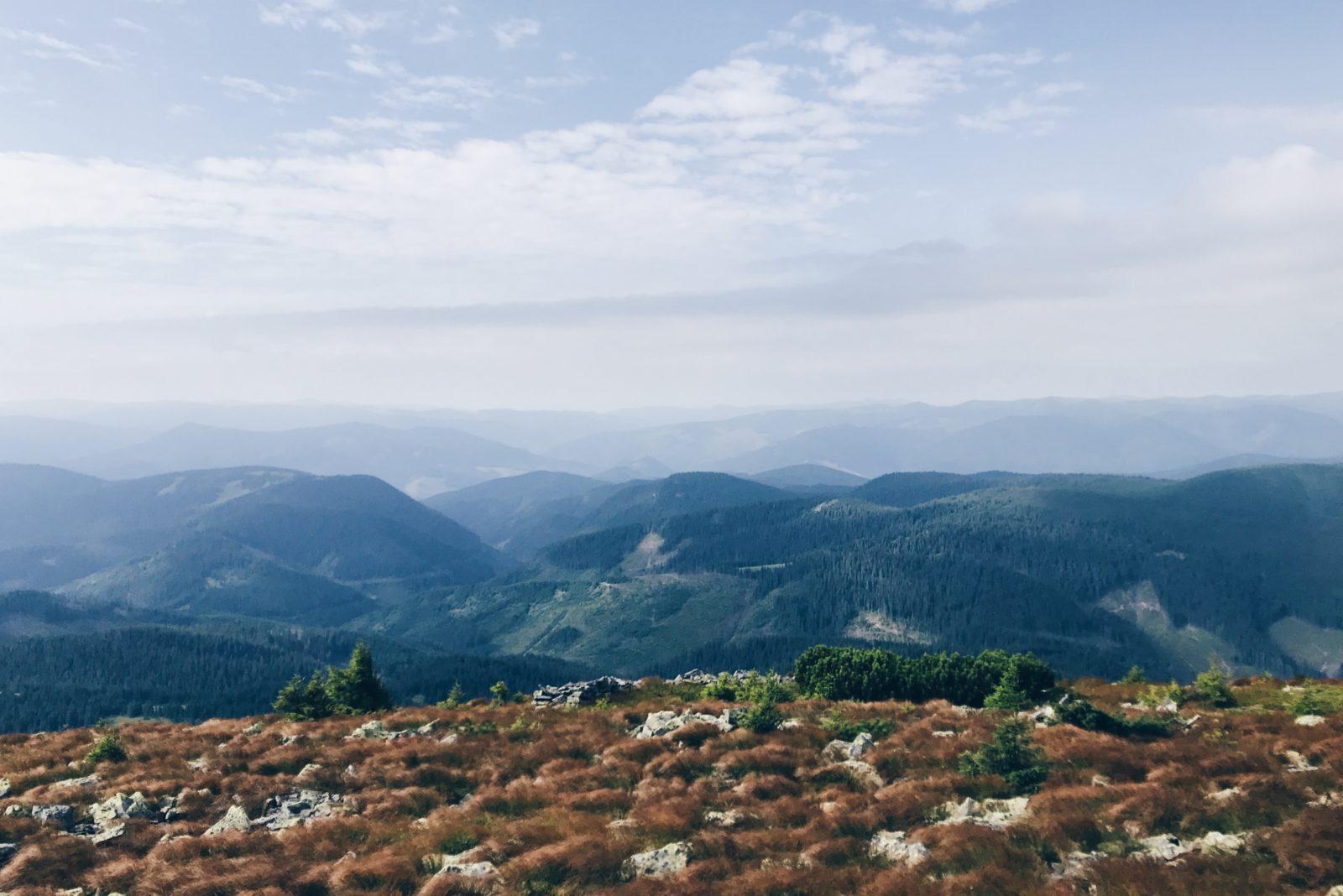 украина горы