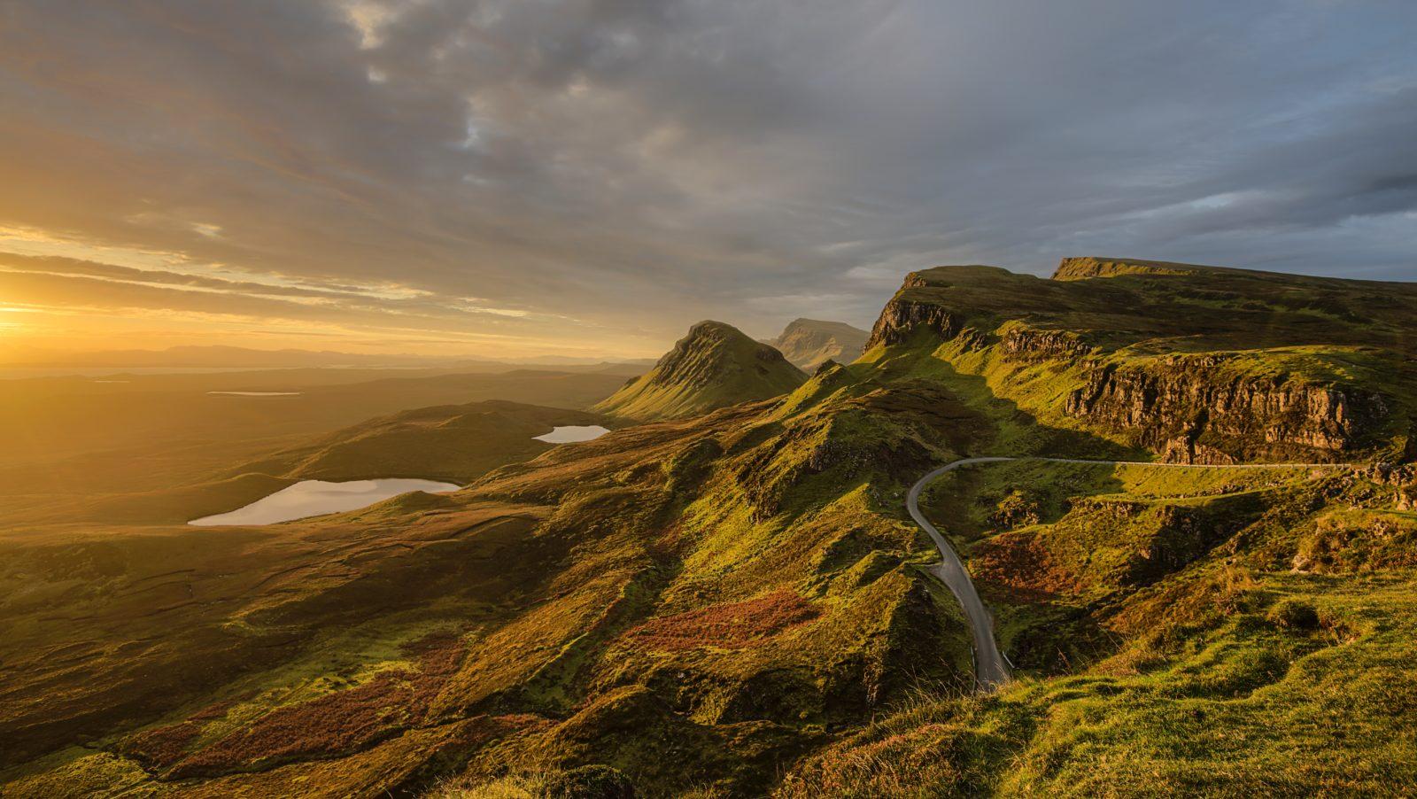 шотландия пейзаж