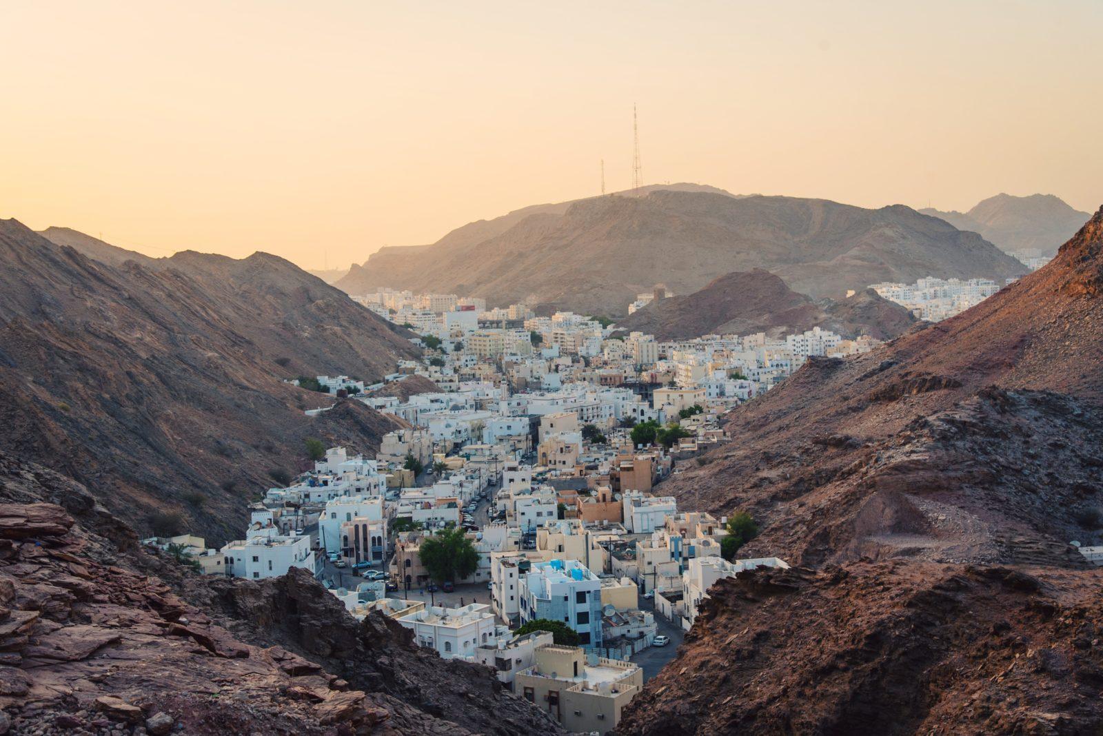 оман деревня