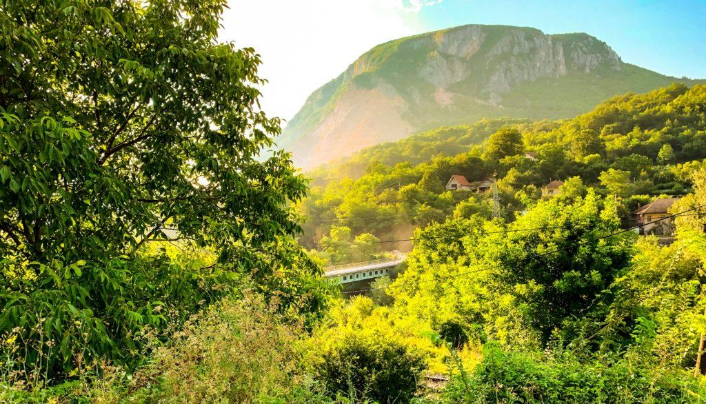 пейзаж в сербии