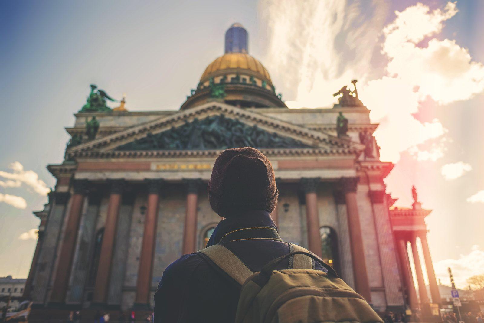 путешественник в россии