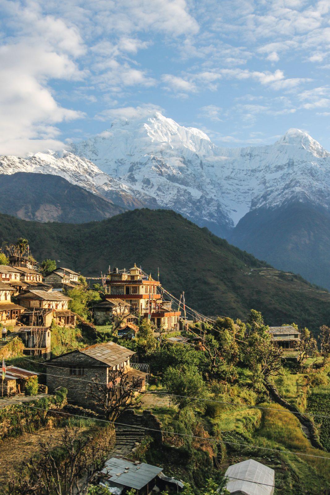 пейзажи в непале
