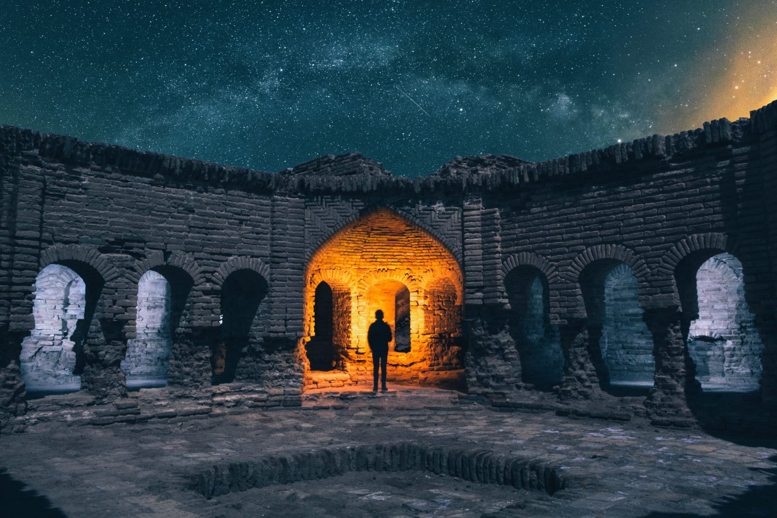 поездка в иран