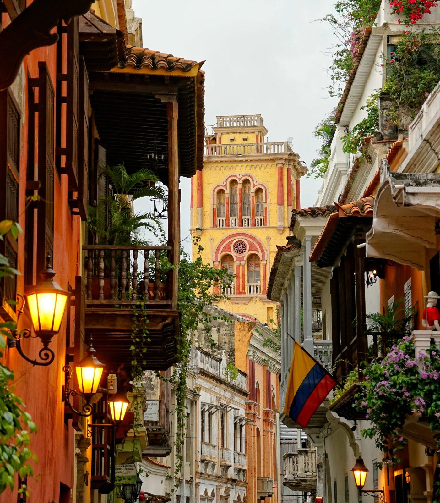 отпуск в колумбии