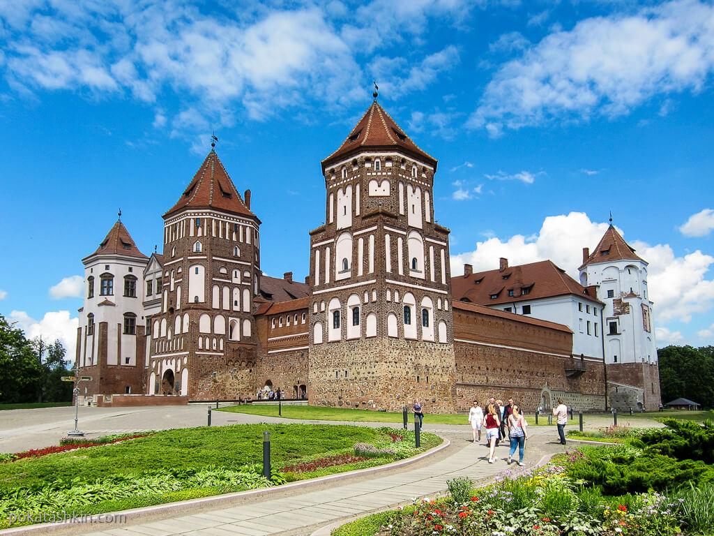 Замки в Беларуси